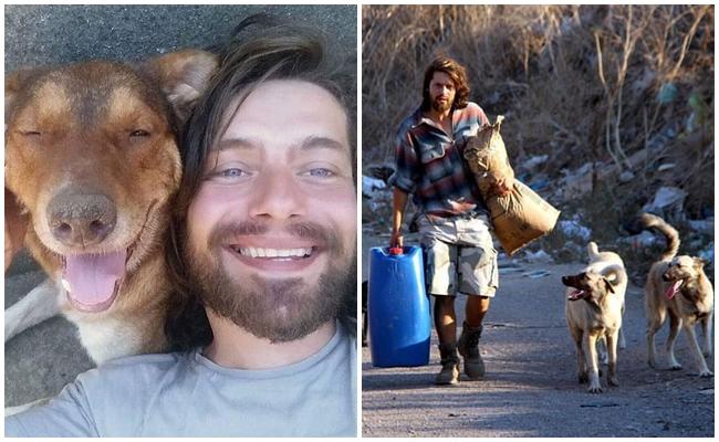 Eğitimini Yarıda Bırakıp Tüm Hayatını Sokak Hayvanlarına Adayan İyilik Abidesi Genç