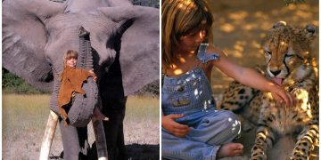Afrika'da Vahşi Yaşamın İçinde Doğup Büyüyen Bir Çocuktan 16 Masalsı Fotoğraf