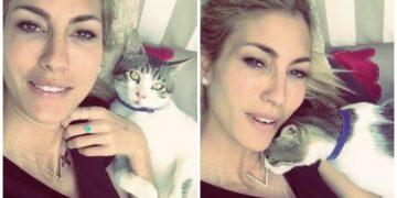 Çağla Şıkel ve Kedi Şükrü'den Kalpleri Eritme Garantili Sıcacık Görüntüler