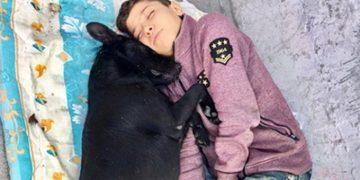 İşte Huzurlarınızda Beşiktaş'ta Köpeğine Sarılarak Uyuyan Hasan'ın Hikayesi