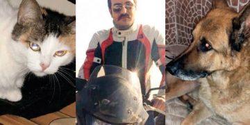 Arda Öziri'nin Beykoz'daki Evinde Sahipsiz Kalan Köpeği Ares ve Kedisi Vilma'ya Sahip Çıktılar