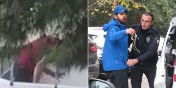 Pes Artık: Kadıköy'de Balkonda Köpeğini Döven Adam Gözaltına Alındı